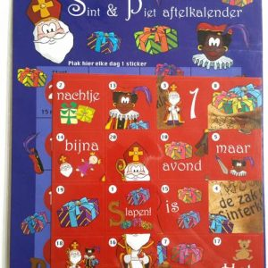 Sint en Piet Aftelkalender