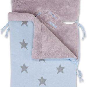 Baby's Only Voetenzak Ster Babyblauw grijs