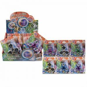 Metallic Cool Spinners
