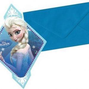 Frozen Uitnodigingen met Elsa