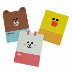 Line Friends A6 notitieboek set van 3