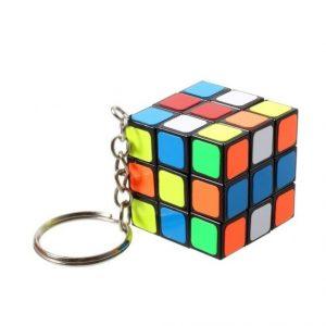 Puzzelkubus sleutelhanger